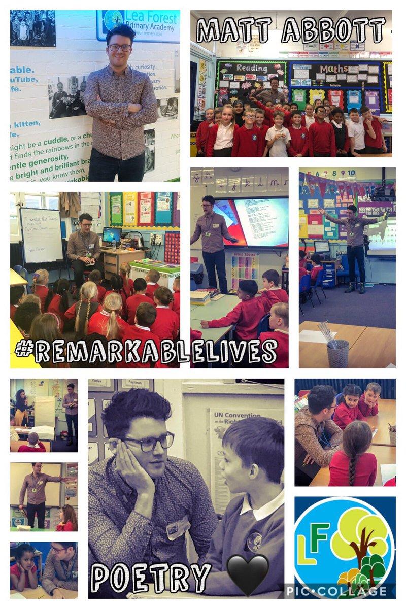 Matt Abbott Poet | Lea Forest Primary Academy