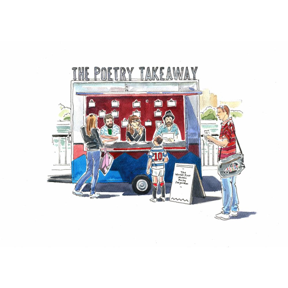 The Poetry Takeaway | Matt Abbott Poet